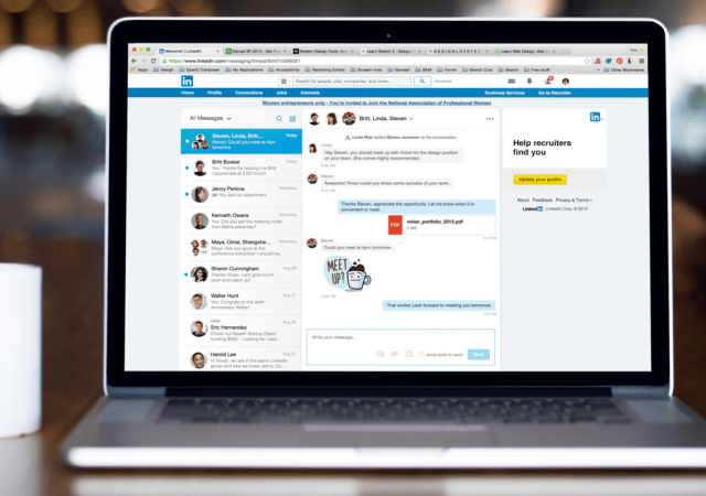 LinkedIn Gets New Messaging Experience
