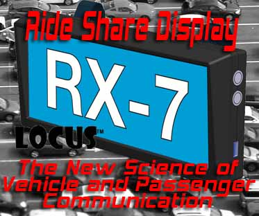 Ride Share Display - Web Pro NJ