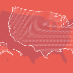 Dotted Map of the Country
