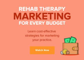 Mobile Rehab Therapy Marketing Webinar Ad