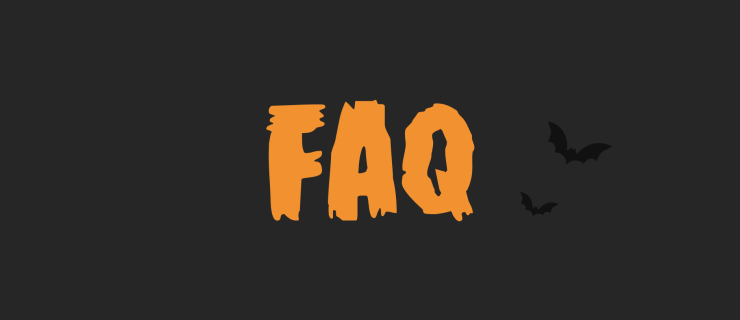 FAQ with bats flying around. They're probably vampires