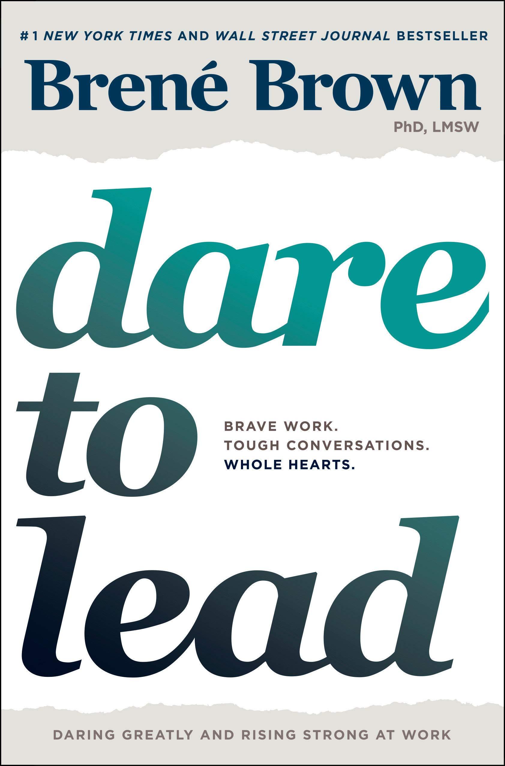 book cover dare to lead