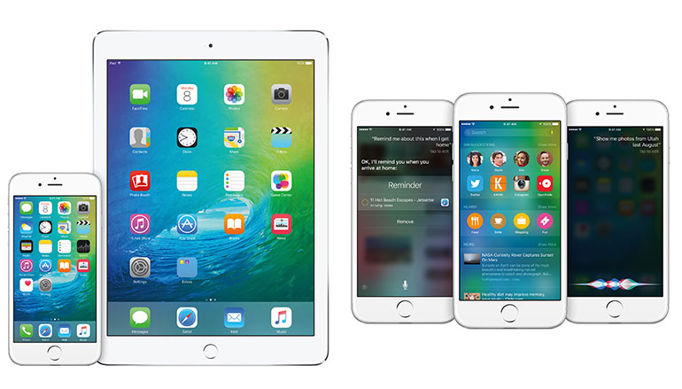 iOS 9, Apple, iPhone 6, iPad