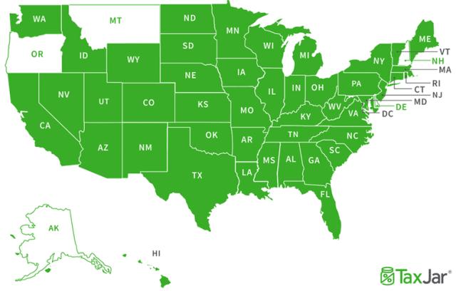 States Map Full