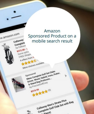 Amazon Sponsored Products on Mobile