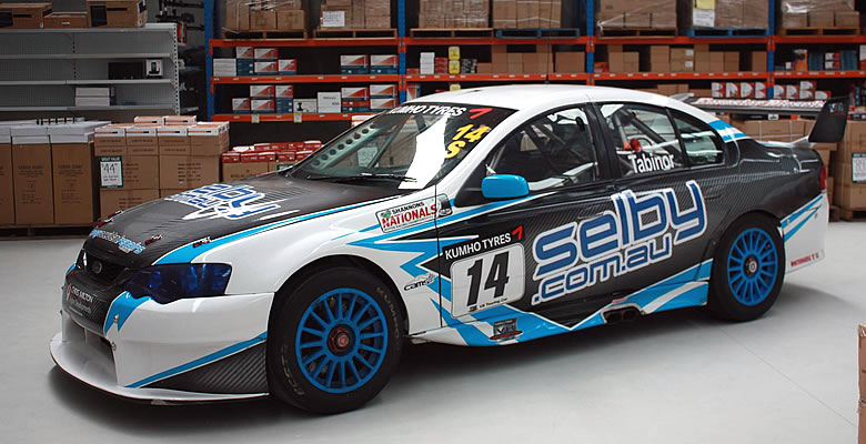 From eBay Seller to Racing Car Sponsor: Selby Acoustics' Story