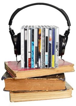 CDs and Old Books