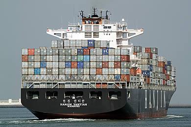 The Hanjin Yantian, © Dave van Spronsen via ShipSpotting.com