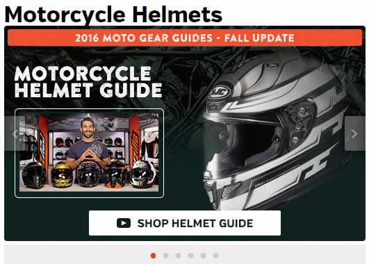 Motorcycle Helmets Gear Guide