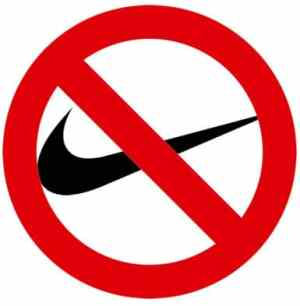 Swoosh not allowed