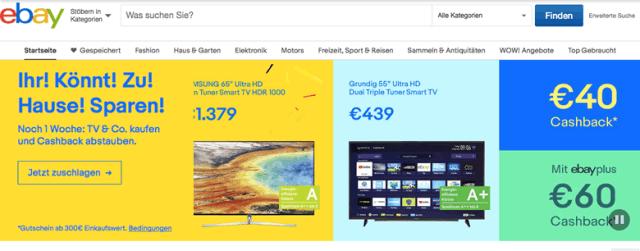 eBay Germany screenshot