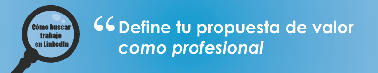 definete como profesional