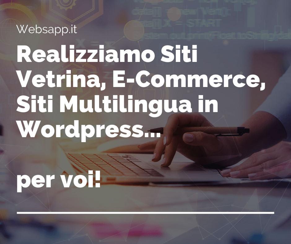 realizzazione e progettazione siti web a parma websapp.it
