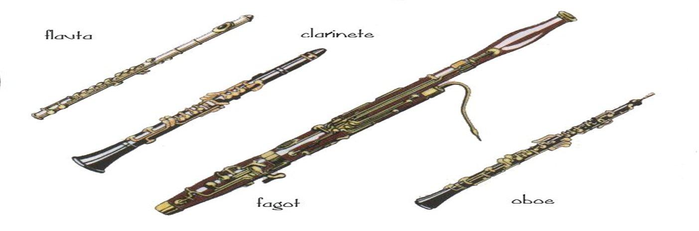 Los Instrumentos De Viento Madera Webscolar