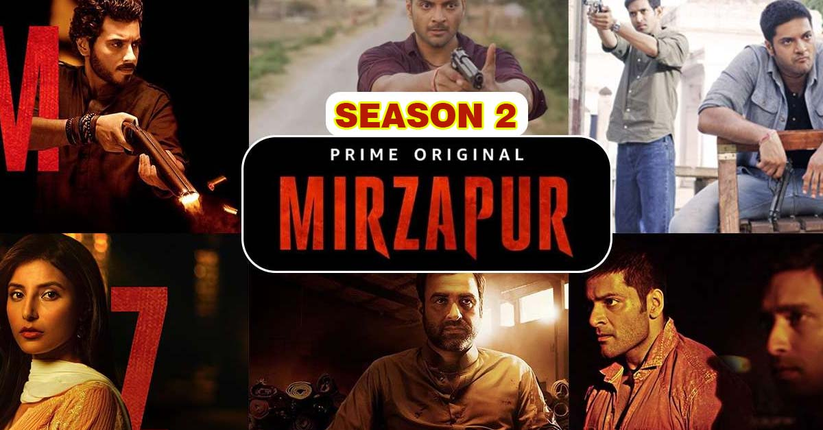 Amazon Prime Mirzapur Season 2 may be Released in August 2020