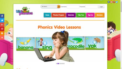 KizPhonics Website