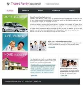 insurance website image