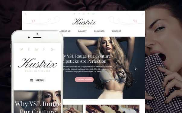 Clothing Website Design Image