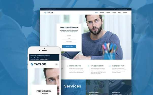 Author Website Design Image