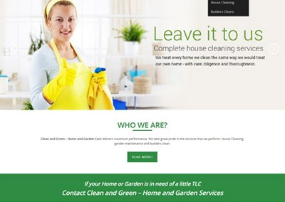 Clean and Green – Home and Garden Care