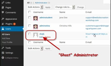 Are There Ghosts Inside Your WordPress Site ?