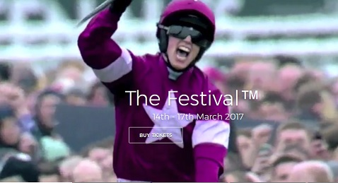 Cheltenham Website Designers are racing ahead with the horses on St Patricks Day