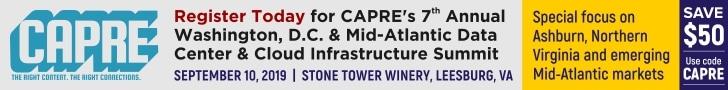 CAPRE's Data Center Round Up for Aug 23, 2019