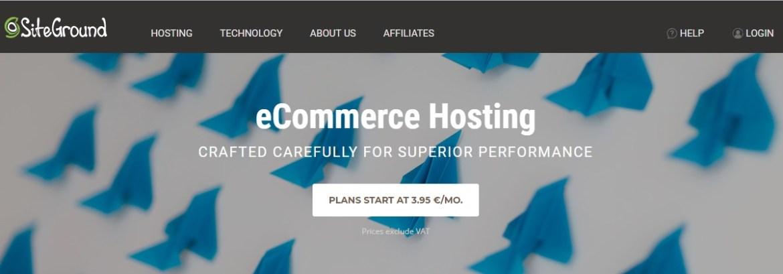Best Ecommerce Hosting Providers 2019
