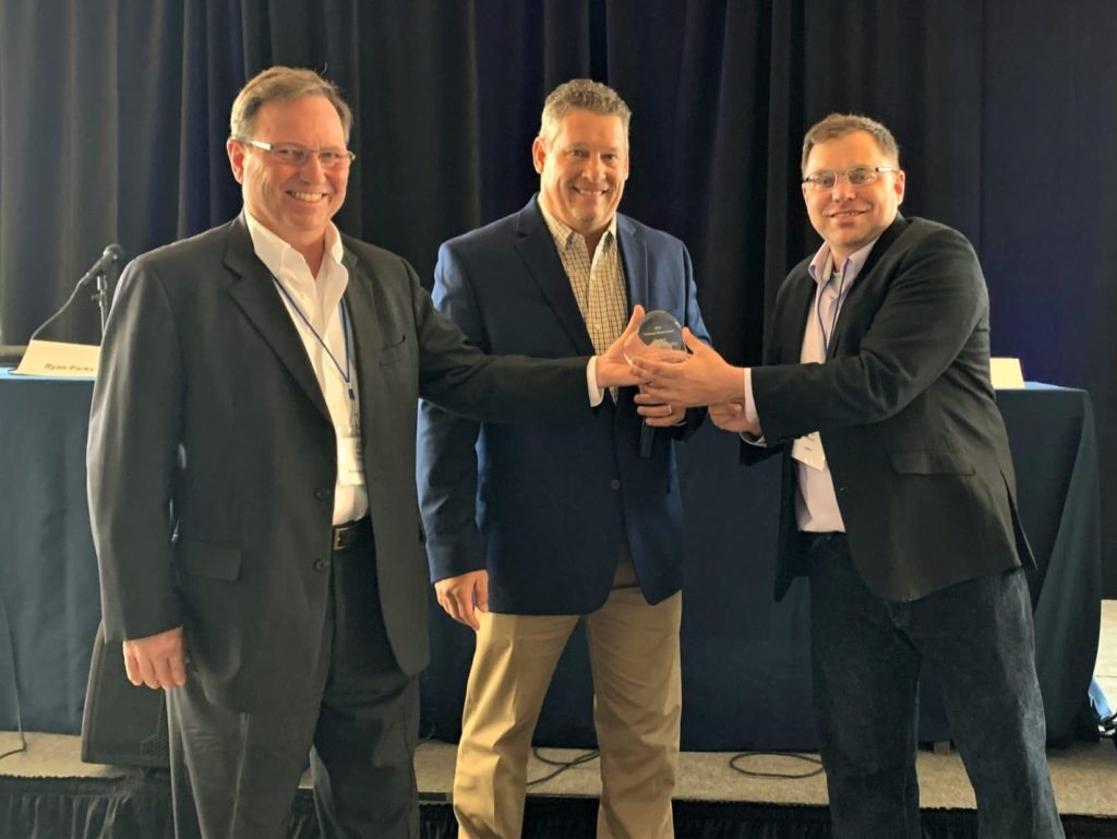 Leadership Logic Consulting and the Allied Testing & Commissioning Council Presents CAPRE with 2019 Platinum Heart Award at Seventh Annual Mid-Atlantic Data Center Summit