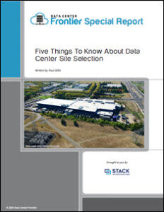 5 Keys to Success in Data Center Site Selection