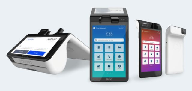 Images of Poynt POS systems