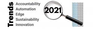 Five Trends for 2021: accountability, automation, edge, sustainability, innovation