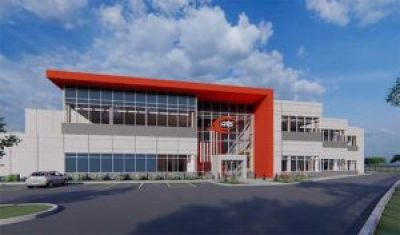 The QTS Data Centers Shellhorn DC-1 project in Ashburn. (Image: QTS)