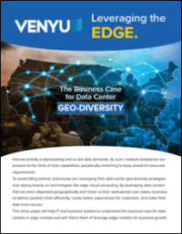 Geo diversity data center location