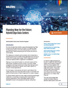 Hybrid Edge Data Centers