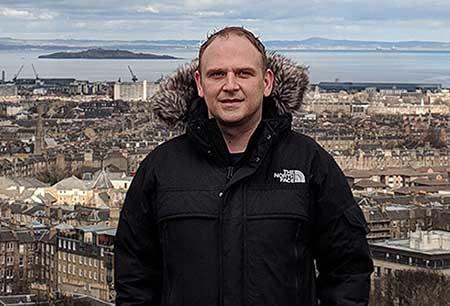 Pete Jones, the CDO and co-founder of data center developer Yondr Group. (Photo: Yondr)