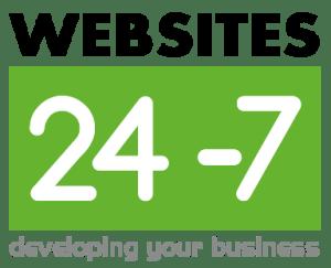 Transparent Websites 24-7 square Logo