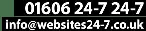 01606 247247 ino@websites24-7.co.uk