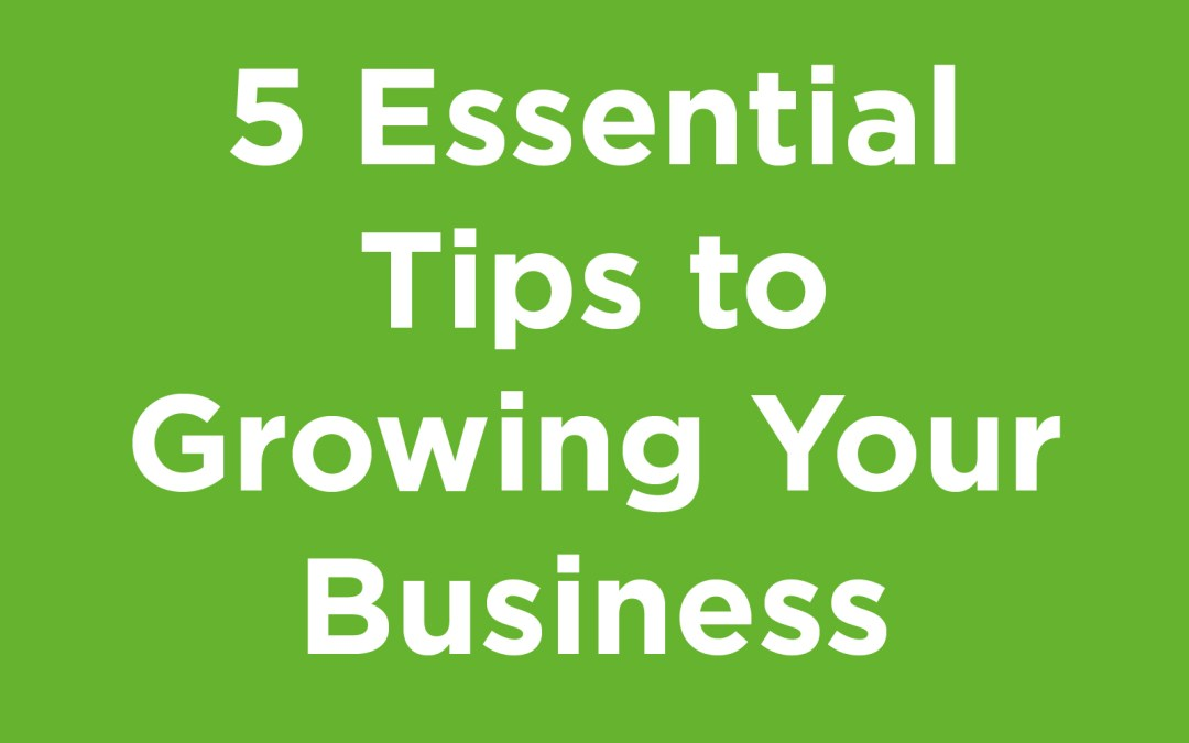 5 essential tips to growing your business featured image