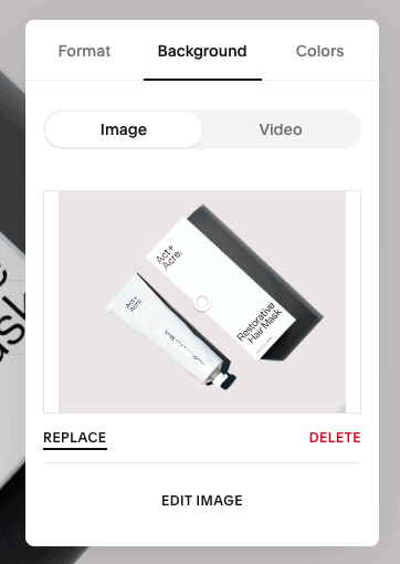 squarespace replace image
