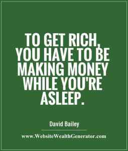 Make Money While You Sleep