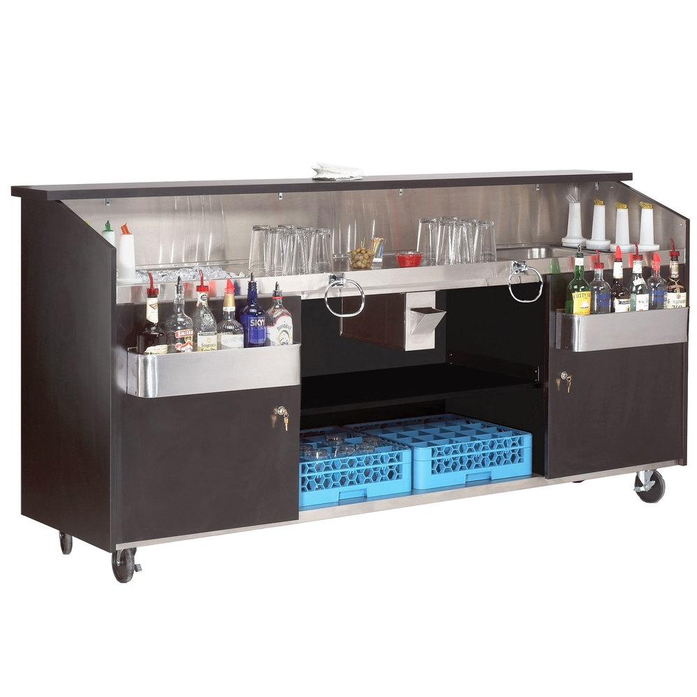 Advance Tabco R-8-B High Volume Portable Bar with ... on Portable Backyard Bar id=66569