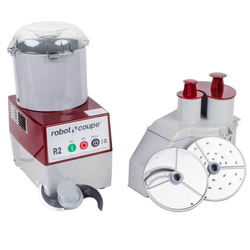 Robot Coupe R2N Combination Continuous Feed Food Processor