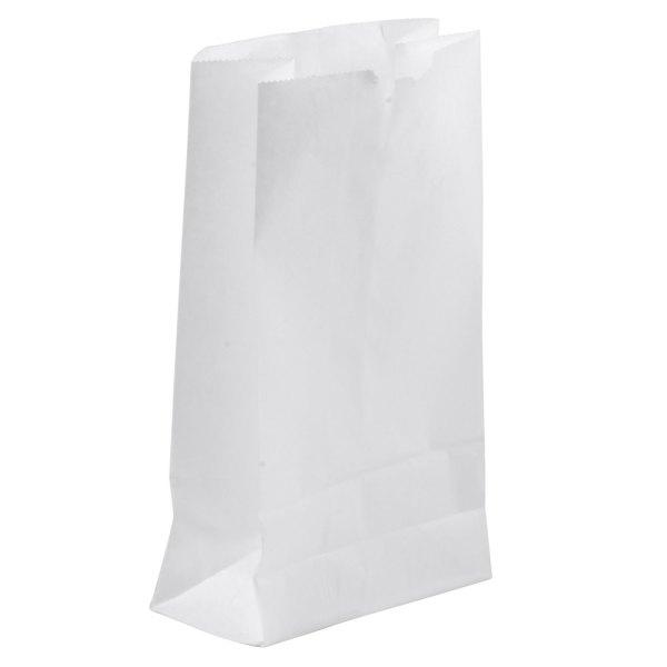 2 lb. White Paper Bag 500/Bundle