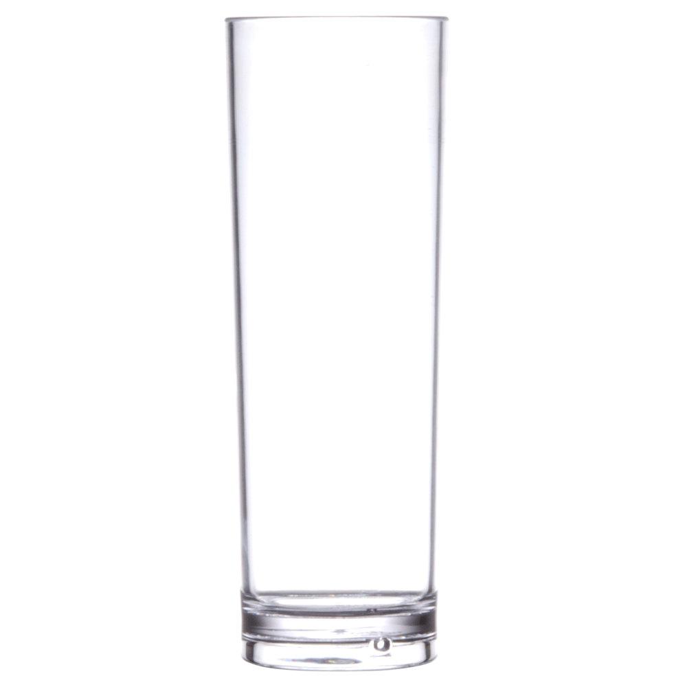 GET H 14 CL H14 14 Oz SAN Plastic Tom Collins Glass