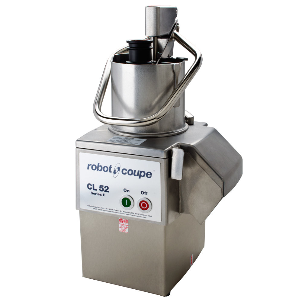 Robot Coupe CL52 Continuous Feed Food Processor 2 Hp
