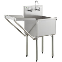 stainless steel utility sinks laundry
