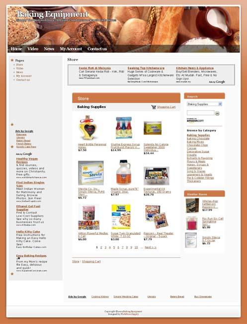 Baking Supply Websites