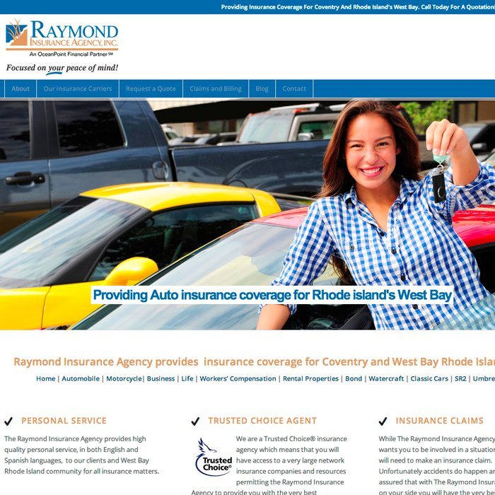 Rhode Island Wordpress design