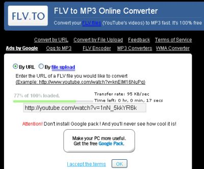 FLV.to Homepage